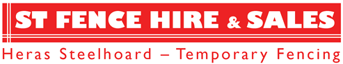 ST FENCE HIRE AND SALES Logo